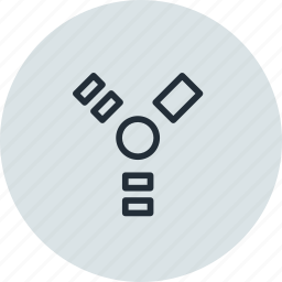 connection, device, fireware, plug, port icon