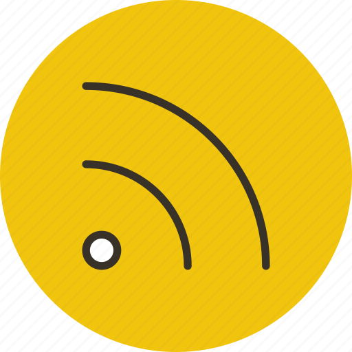 feed, news, router, rss, wifi icon