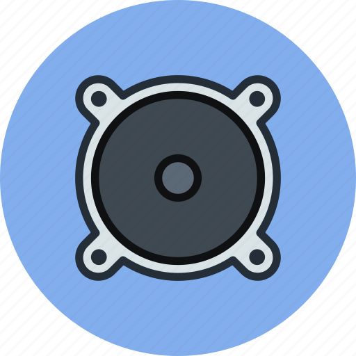 audio, bass, monitor, music, sound, speaker, subwoofer icon