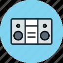 audio, boombox, music, radio, sound, speaker