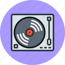 analog, audio, dj, music, sound, turntable, vynil icon