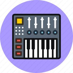 audio, console, controller, dj, keys, midi, mix icon