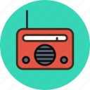 device, equipment, music, radio icon