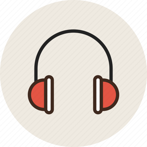 audio, headphones, headset, music, sound icon