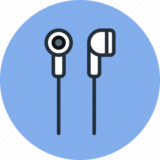 audio, ear, headphones, in, music, plug, sound icon