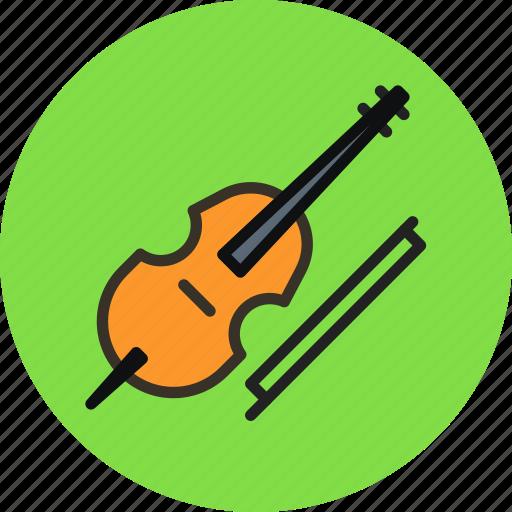 audio, cello, instrument, music, sound, violin, violincello icon