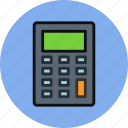 calculate, calculator, device, math icon