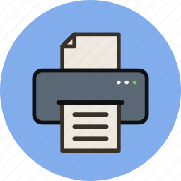 device, inkjet, laser, mfd, print, printer icon