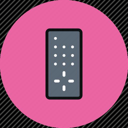 control, remote, remote control, tv icon