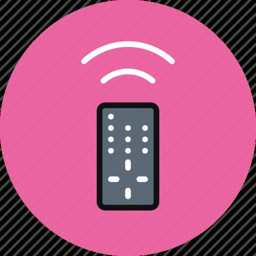 control, infrared, remote, remote control, tv icon