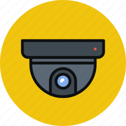 cam, device, roof, security, surveillance icon