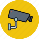 cam, device, security, surveillance, wall icon
