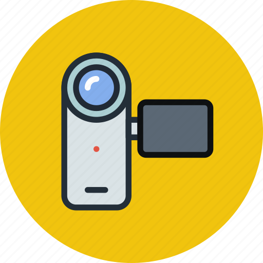 cam, camcorder, camera, device, media, video icon
