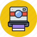 camera, device, digital, hipster, photo, photography, polaroid icon