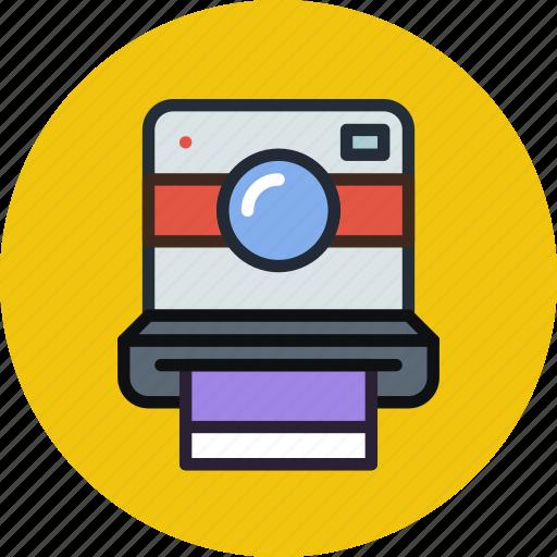 camera, device, digital, hipster, photo, photography, polaroid icon