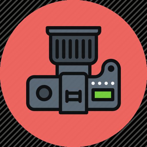 cam, camera, digital, dslr, multimedia, photo, photography icon