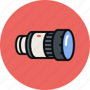 camera, lens, photo, telescope