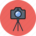 cam, camera, image, multimedia, photo, photography, tripod icon