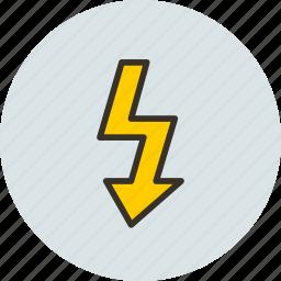 camera, charging, flash, flashlight, photo icon