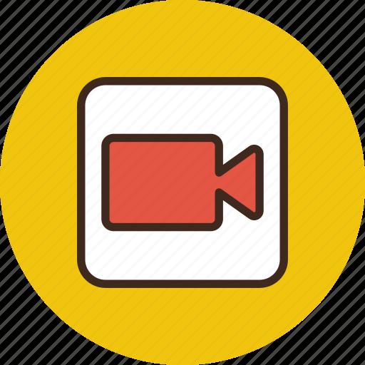 cam, camera, record, video icon