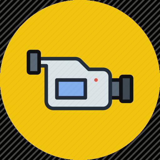 cam, camcorder, camera, device, media, record, video icon
