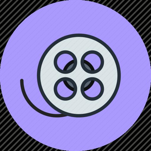 camera, film, icojam, roll, video icon