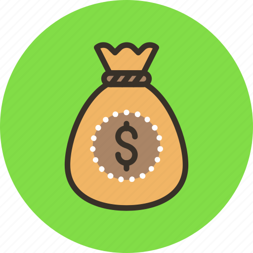 bag, cash, gold, money, wealth icon