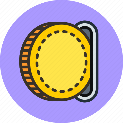 cash, coin, finance, insert, money, pay icon