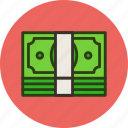 cash, currency, finance, money, pack, salary icon