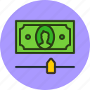 cash, finance, limit, money, options, settings icon