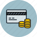 budget, card, credit, debet, deposit, finance, money icon