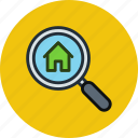 search, house, home, find, real estate