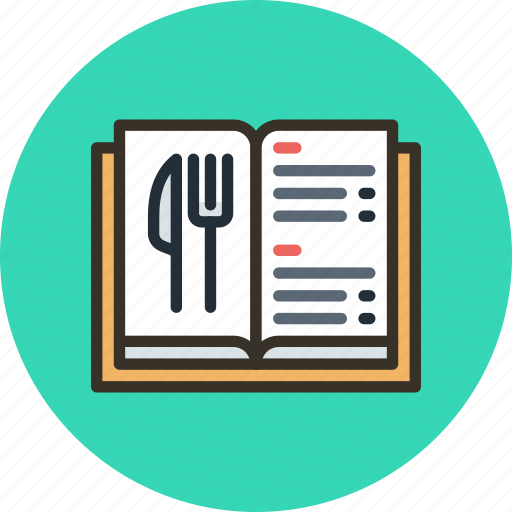 book, food, list, menu, prices icon