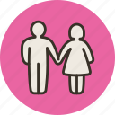 couple, family, man, married, people, woman icon