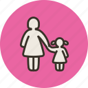 child, daughter, family, girl, mom, mother, parental control