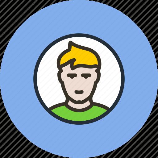 avatar, boy, man, photo, profile, round, user icon