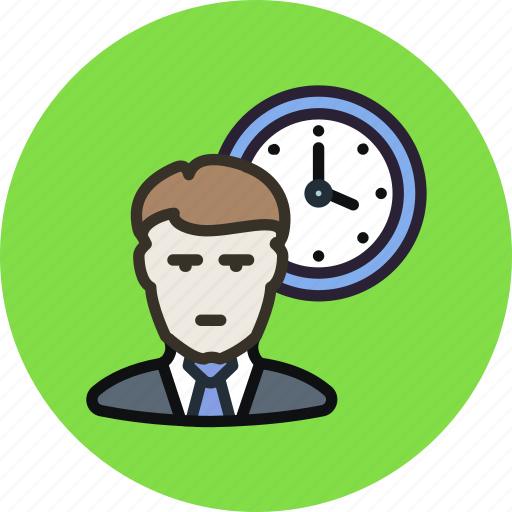 employee, hours, schedule, time, timetable, work, working icon