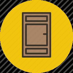 door, exit, front, interior icon