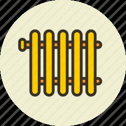 furniture, heating, interior, radiator icon