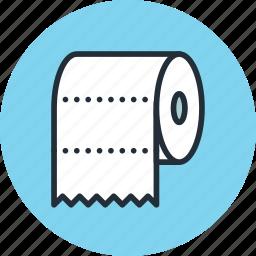 bathroom, furniture, interior, paper, toilet, towel, wc icon