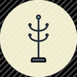 clothes, furniture, interior, rack icon