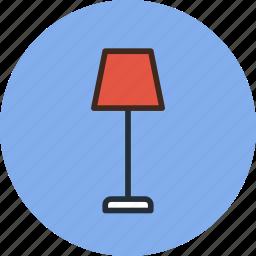 floor, furniture, interior, lamp, light icon