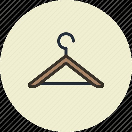 clothes, furniture, hanger, interior icon