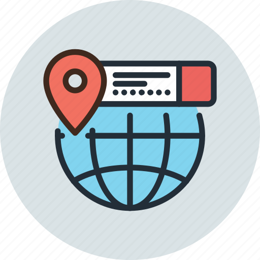 earth, geo, globe, gprs, location, pin, targeting icon