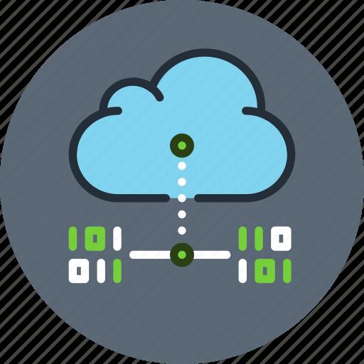 backup, cloud, copy, data, digital, internet, storage, transfer icon