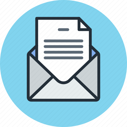 document, email, envelope, file, letter, mail, message, text icon