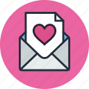 email, heart, love, mail, message, valentine
