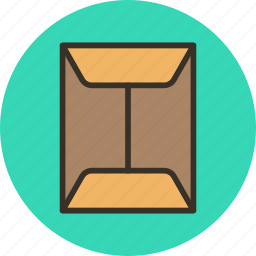 documents, envelope, mail, post, service icon