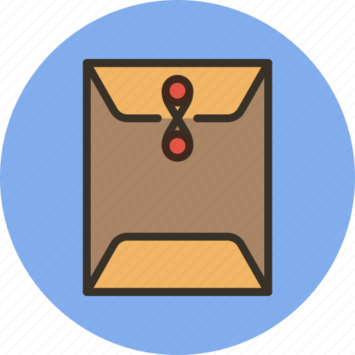 documents, envelope, mail, post, sealed, service icon