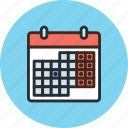 calendar, date, holidays, management, month, schedule, time, weekends icon